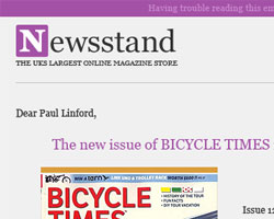 Email notification for Newsstand by Kit and Caboodle