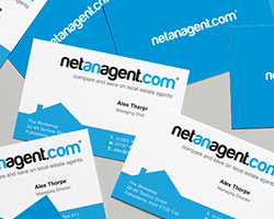 Business cards for Netanagent.com by Kit and Caboodle